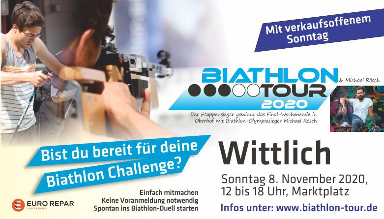 Biathlon und Verkaufsoffener Sonntag Wittlich 2020