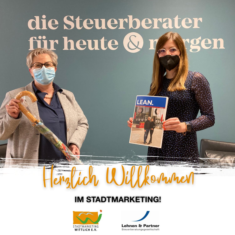 Lehnen & Partner neues Mitglied im Stadtmarketing Wittlich
